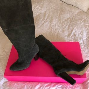 BETSEY JOHNSON suede boots